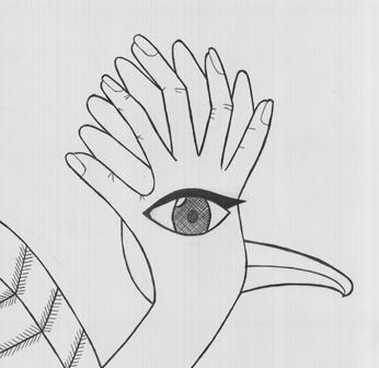 Main observée, main cachée
