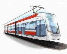 Un nouveau tram