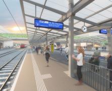 La nouvelle gare de Renens