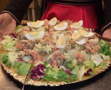 Salade de pommes de terre colombienne