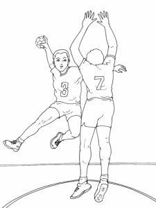 coloriage-sport-handball-4