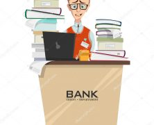 Employée de banque