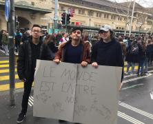 Mobilisation pour le climat
