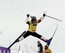 championne de ski acrobatique