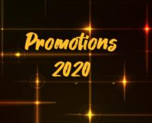 Vidéos des promotions 2020