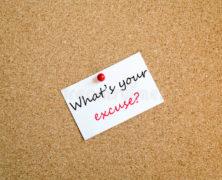 Quelle excuse donnes-tu?
